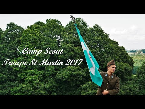Camp Troupe St Martin 2017