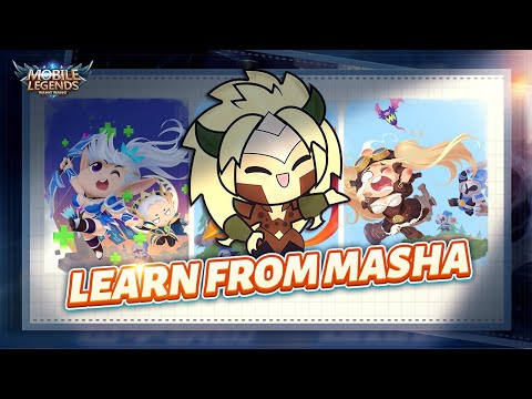 learn-self-defense-from-masha- -dragon-tamer-series-new-skin- -mobile-legends:-bang-bang!