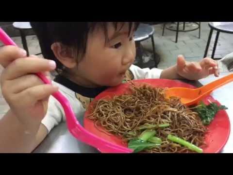 るぅさん koon kee dry wan tan mee をガツガツ食す! ドライワンタンミー