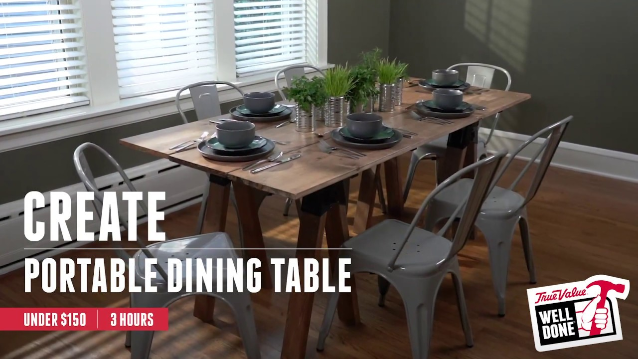 How To Create A Dining Room Table