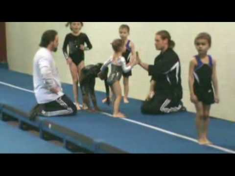 Tumble like a Rock Star Gymnastics competition