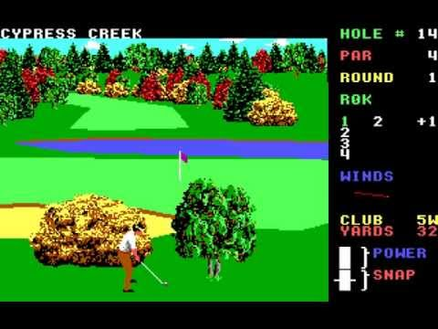World Class Leaderboard (PC/DOS) 1988, Access Software, Inc.
