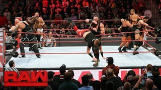 Video Braun Strowman earns controversial Tag Team Battle Royal win: Raw, March 13, 2018 download MP3, 3GP, MP4, WEBM, AVI, FLV Juli 2018