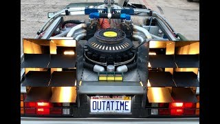 Back to the Future Delorean Time Machine - Detailed Review and Ride Along ***SOLD***