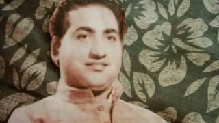 Mohammad Rafi - Hum Ishq Mein Barbad - Film Aankhen (1950)