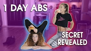 HOW TO GET ABS IN 1 DAY (feat. Ayla Woodruff)
