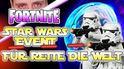 Warum gibt es kein STAR WARS Event für Rette die Welt ? Was ist das Problem EPIC GAMES ?