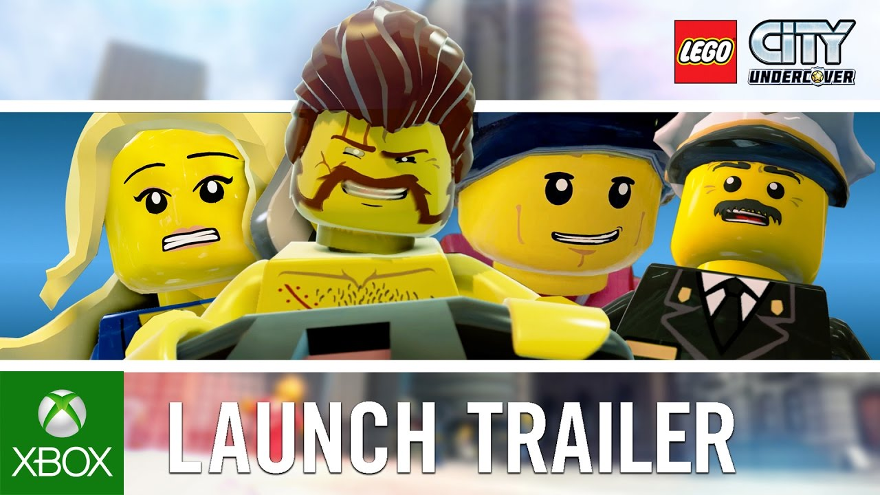 lego city undercover  launch trailer  youtube