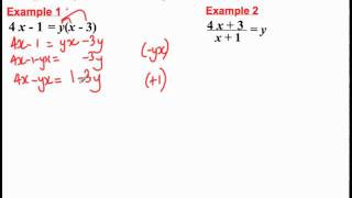 Changing the subject of the formula(3).mp4
