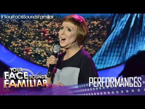 "Your Face Sounds Familiar: Kakai Bautista as Julie Andrews - ""Sound of Music"""
