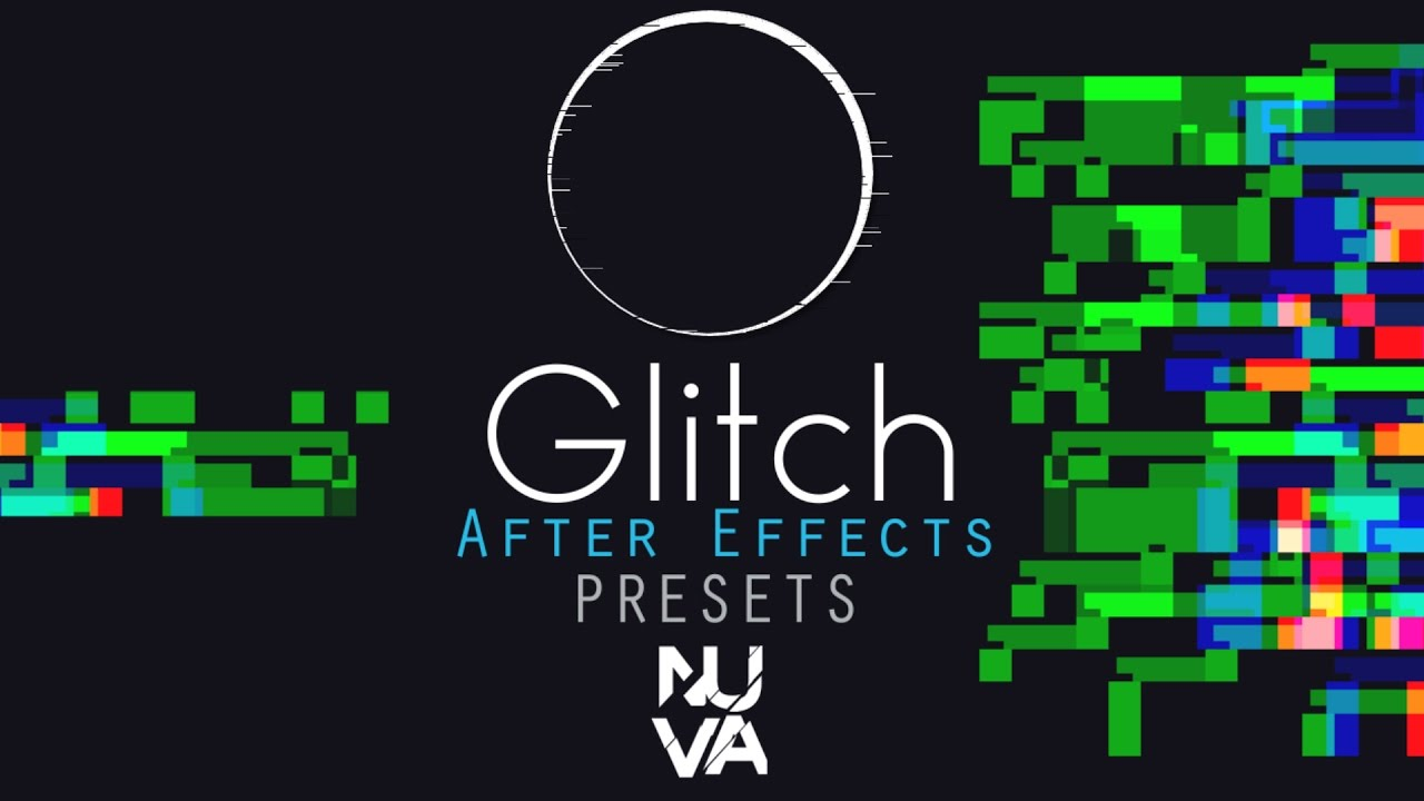 Glitch Presets Gratis para After Effects - Free Presets