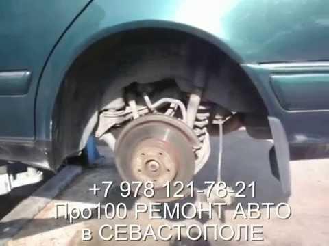 Mercedes-Benz ремонт тормозной системы автомобиля в Севастополе
