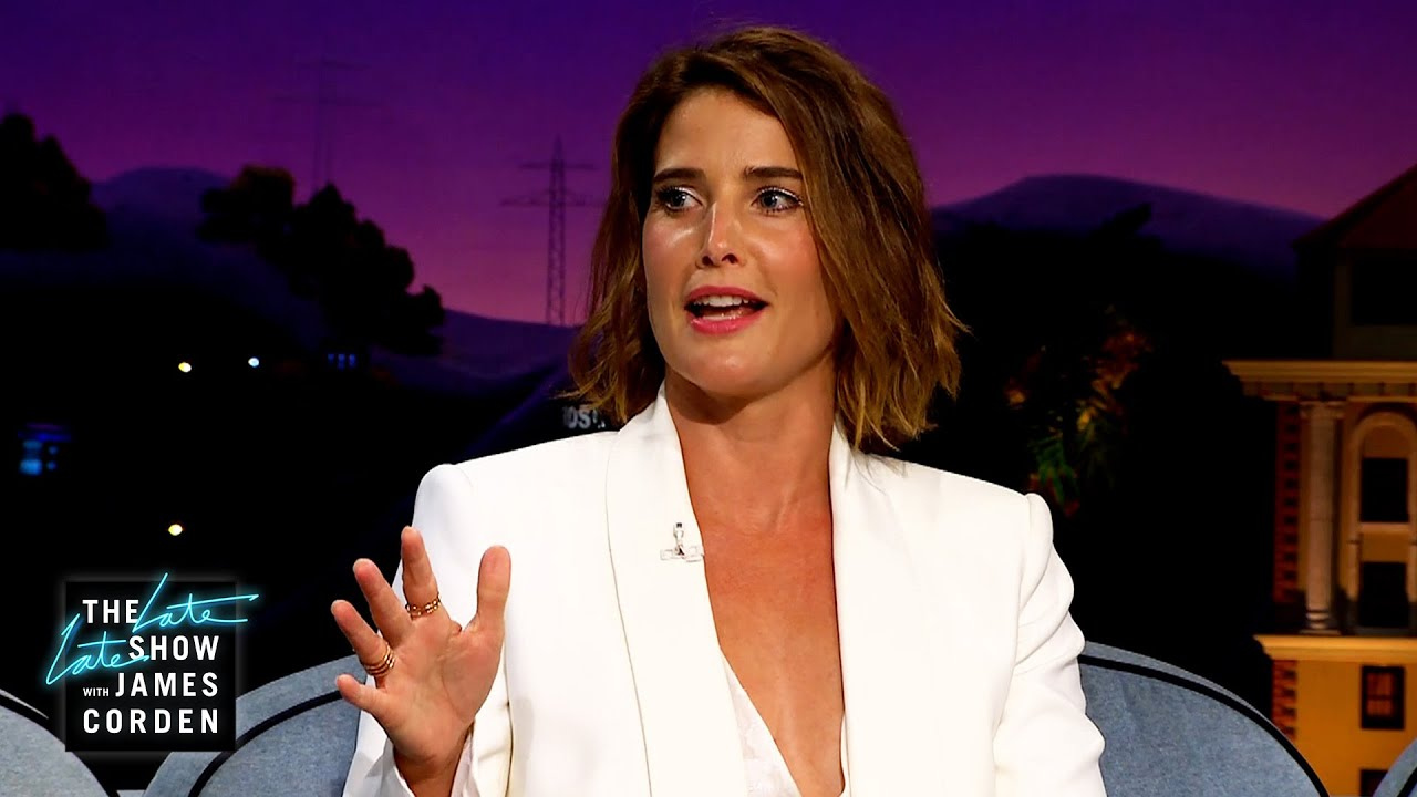 Cobie Smulders ACED Her Citizenship Test
