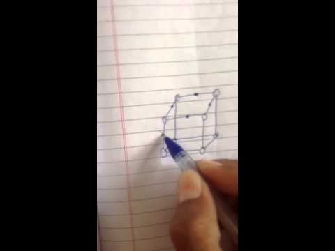 Easy way to draw structure of sodium chloride