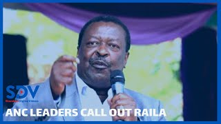 ANC MPs call out Raila on revenue allocation \