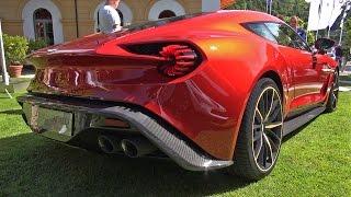 Aston Martin Zagato Vanquish Concept - WORLD PREMIERE!!