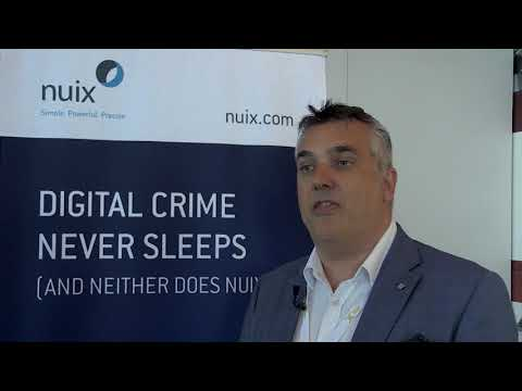 From DIC Zurich, June 2017: a chat with Nick Pollard of Nuix