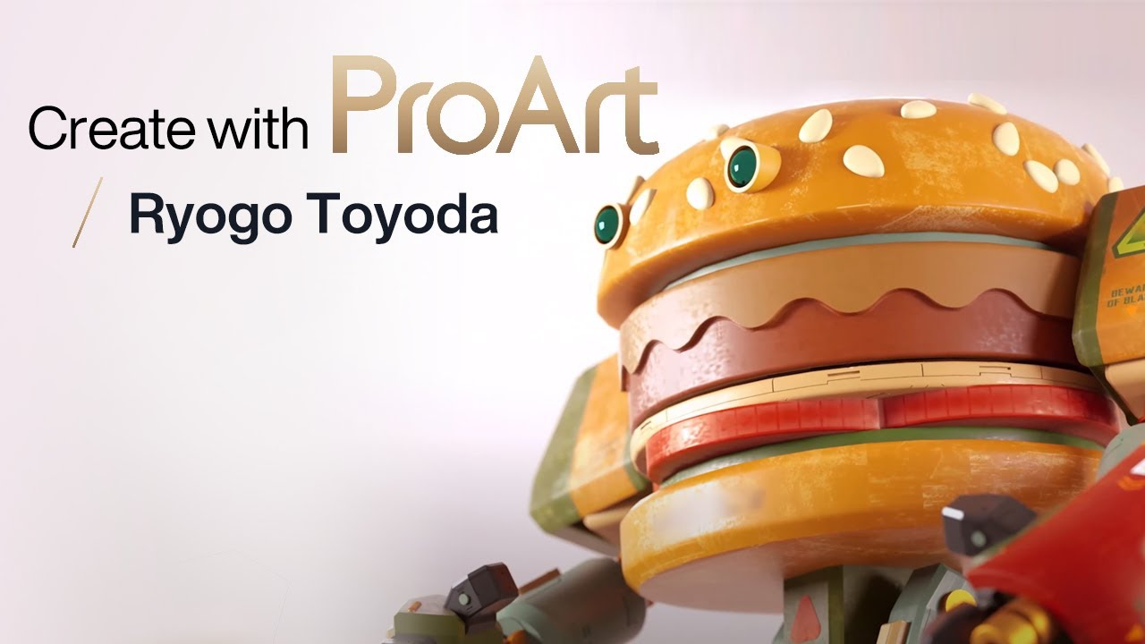 Create with ASUS ProArt - 3D Illustrator | Ryogo Toyoda