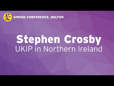 Stephen Crosby in Bolton