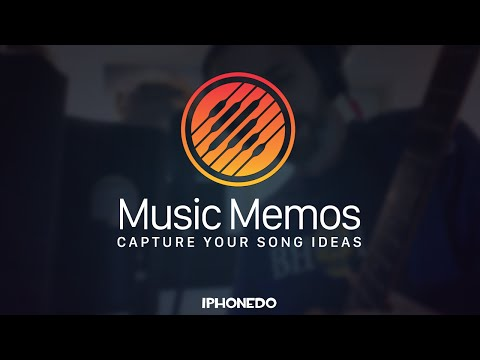 Music Memos — Record a song idea in couple of minutes