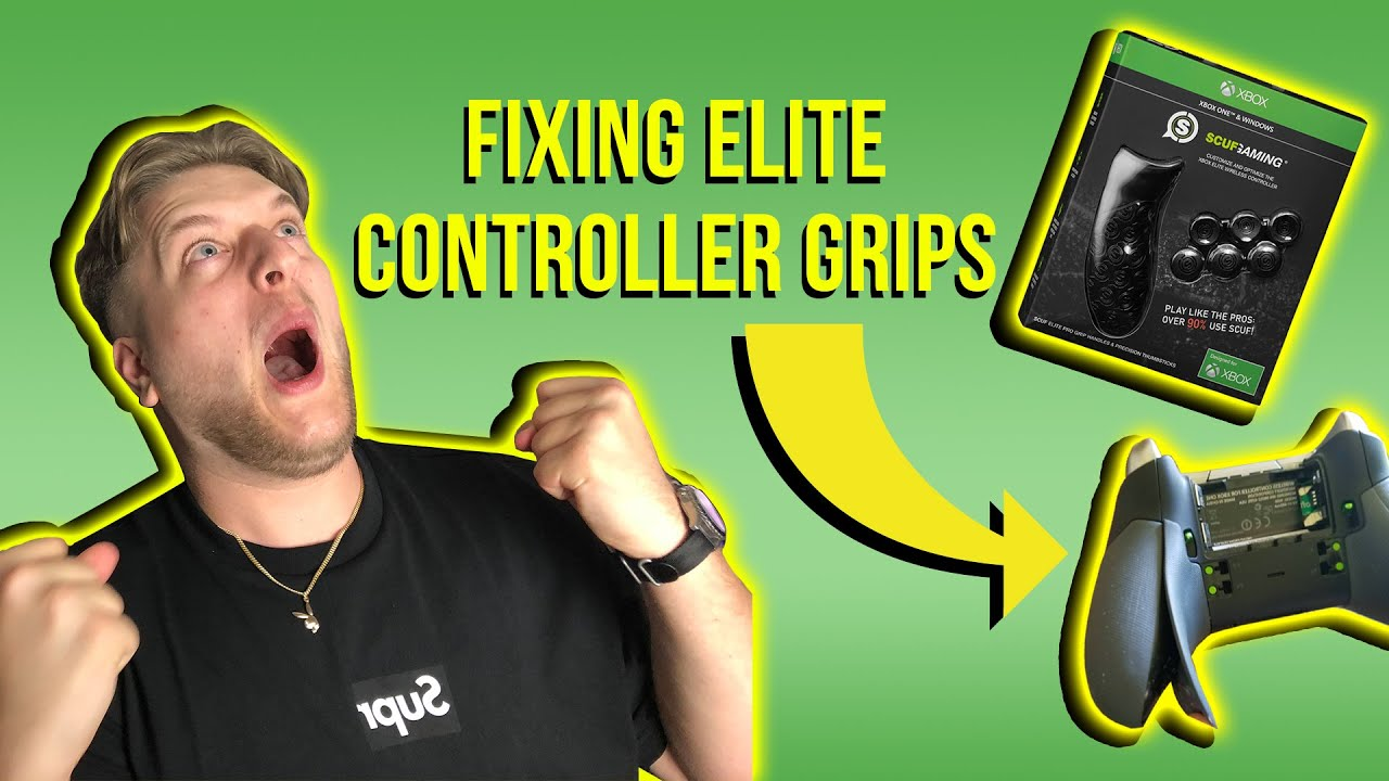 Xbox Elite Controller Grips Coming Off   How To Fix   Scuf Review