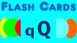 Flash Cards - english words starting with the letter - Q