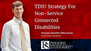 TDIU Strategy For Non-Service Connected Disabilities