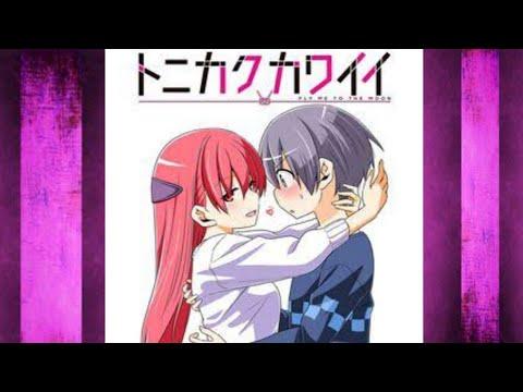 Download Tonikaku Kawaii  [Fly Me To The Moon] Opening Song  Full    [Koi No Uta] by Yunomi