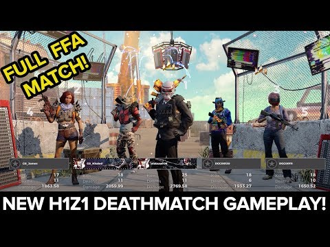 H1Z1's upcoming free expansion adds a new 50 player FFA