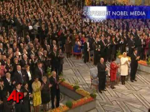 President Barack Obama Accepts Nobel Peace Prize