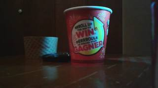 Tim Hortons roll up the rim to Win 2017 part 36