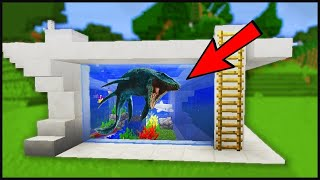 HOW TO BUILD AQUARIUM IN MINKRAFT