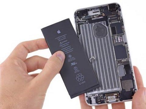 Ремонт Apple iPhone 6 - замена батареи - Duration: 8:23.