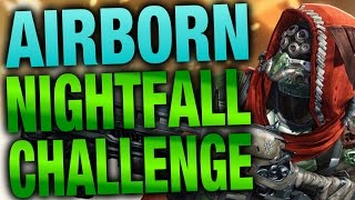 Jumping Lord Of Wolves Nightfall Challenge - Destiny Funny Videos