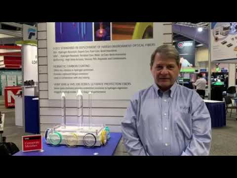 Gary talks Specialty Fiber at 2019 SPIE Photonics West
