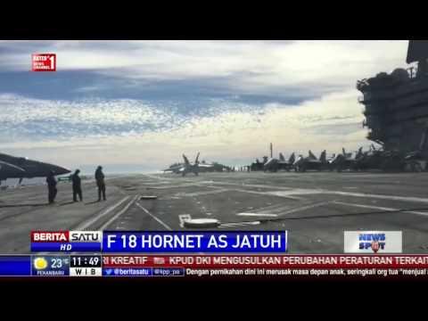 Pesawat Tempur AS Jatuh di Laut Sulawesi