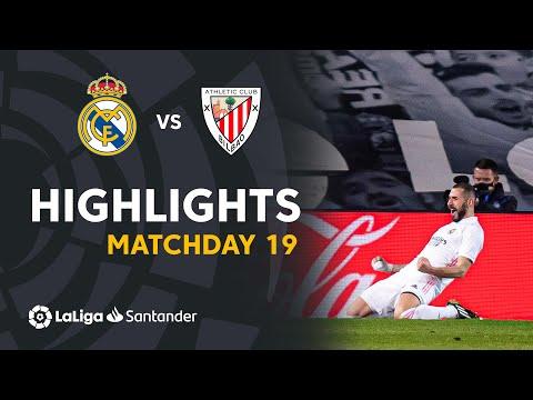 Highlights Real Madrid vs Athletic Club (3-1)
