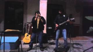 los sonidos del silencio con flauta y guitarra