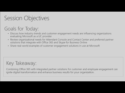 Enhance customer engagement with Office 365 and partner solutions | BRK2027