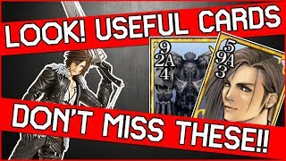 2x Cards you DON'T WANT TO MISS in Final Fantasy 8 Remastered - Laguna & Alexander! Queen of Cards!