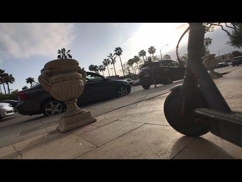 Riding The Bird In Santa Monica: Zero Smog Mobility Vehicle