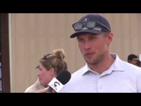 Hockey and Horse Racing: An Interview with Erik Johnson