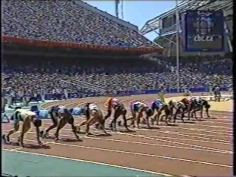Maurice Greene/Donovan Bailey/Bruny Surin - Olympics (100m Round 1 Heats) - Sydney, Australia (2000)