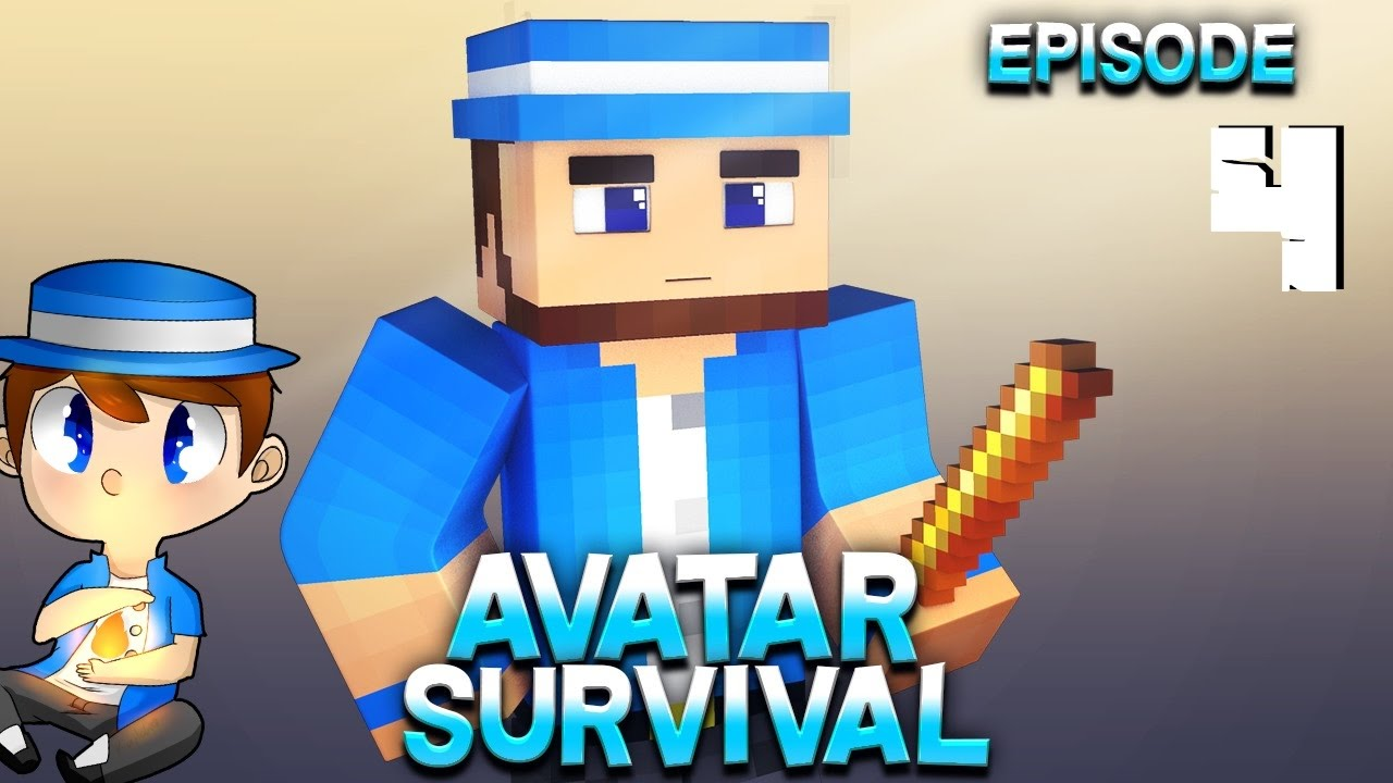 Download Minecraft - Avatar the Last Block Bender Survival - Episode 4 - House on the Water