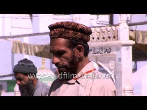 Muslims offer prayers at Ajmer Sharif Dargah in Rajasthan