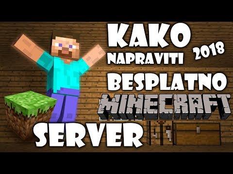 Minecraft 1.13 - Kako Napraviti Minecraft Server Potpuno Besplatno ? 2019