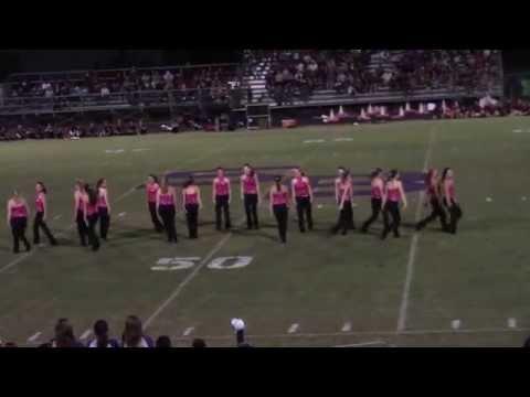 South Beauregard High School 2015/2016 Knightline dancing at halftime Jennings game 2015