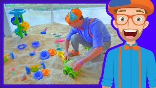 Blippi Plays at the Children's Museum | Learn Colors for Toddlers thumbnail