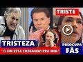 Triste: aos 84 anos ator da Globo Tarcísio Meira, Silvio Santos surpreende e liga pra mãe de Gugu