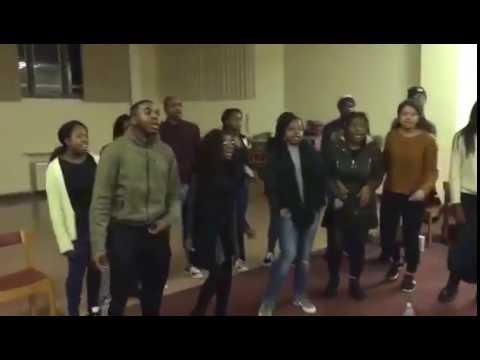 University of Birmingham Gospel Choir - Brighter Day Rehearsal (Kirk Franklin)